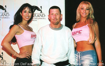 Pat Miletich and UFC girls