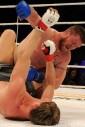 Pat Bennett punching Alexander Volkov