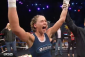 A victorious Jorina Baars (photo via Lion Fight / AXS TV)