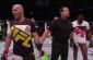 Teixeira and Saint Preux (right) (photo via UFC / FOX Sports)