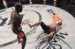 Manhoef crushed Kato with a left hook (photo via Bellator)