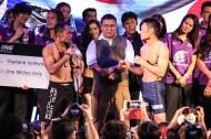 Dejdamrong Sor Amnuaysirichoke And Yoshitaka Naito (right) (photo via ONE)