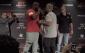 Lewis (left) and Hunt (photo via UFC)