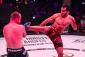 Mousasi kicking Shlemenko (phot via Bellator)