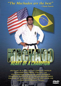 Machado: Heart of a Champion DVD