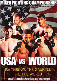 MFC 3: USA vs. World DVD