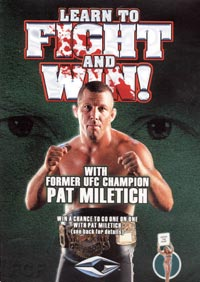 Pat Miletich Instruction DVDs and VHS video tapes