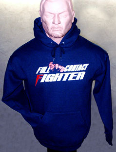 New Hooded Navy Sweatshirt
