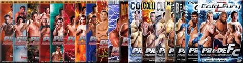 PRIDE DVDs