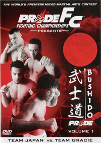 Pride Bushido 1 DVD