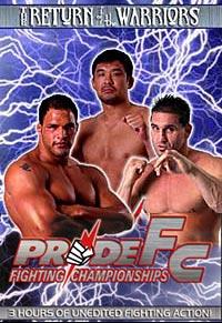 PRIDE 10 DVD