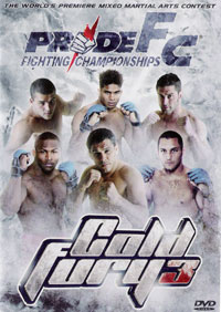 Pride Cold Fury 3 DVD