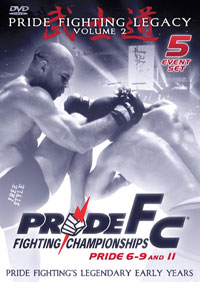 Pride Fighting Legacy Volume 2 DVD