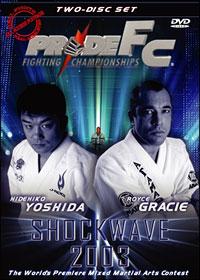 PRIDE Shockwave 2003 DVD