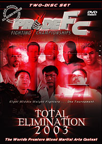 PRIDE Total Elimination 2003 DVD
