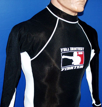 Two-toned long sleeved rashguard