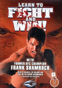 Frank Shamrock Instruction DVDs and VHS video tapes