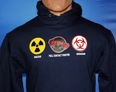 Hooded War Sweatshirt