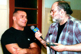 Eddie Goldman interviewing Matt Serra