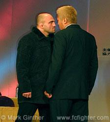 Wallid Ismail (left) vs. Yasuhito Namekawa