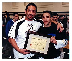 Mario Yamasaki and Francisco Neto