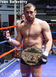 HOOKnSHOOT middleweight champ Ivan Salaverry