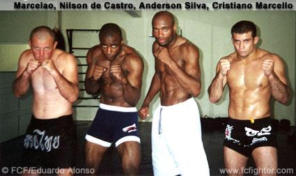 Marcelao, Nilson de Castro, Anderson Silva, Cristiano Marcello