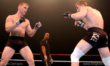 Trevor Prangley (left) vs. Andrei Semenov