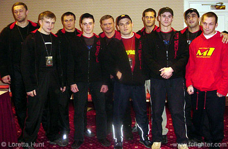 The Russian Red Devil Team