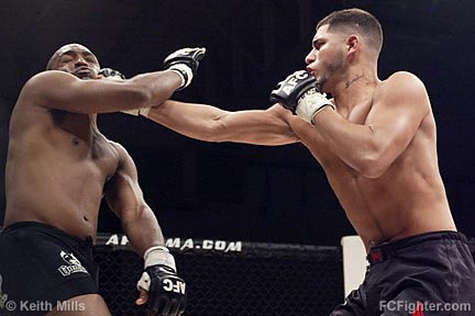 Shakir (left) vs. Masvidal