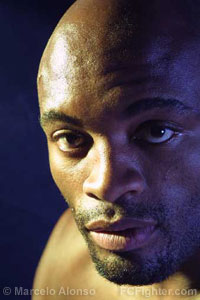 Anderson Silva - Photo by Marcelo Alonso
