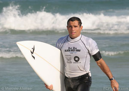 Black Belt de Surf 2006: Royler Gracie - Photo by Marcelo Alonso