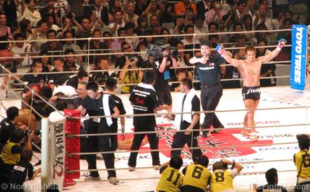 Sakurai defeats Alfonso