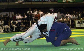 Roger Gracie on top of Demian