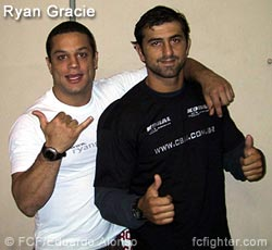 Ryan Gracie (left)