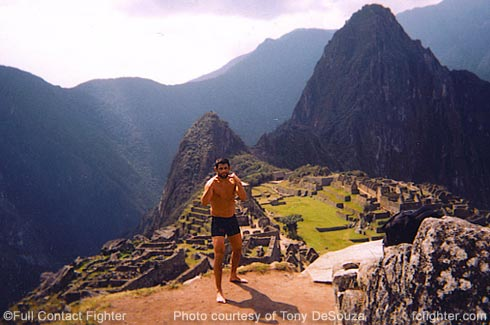 Tony DeSouza at Machu Picchu