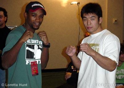Yves Edwards & Naoyuki Kotani