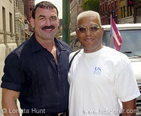 Don Frye and Ron Van Clief
