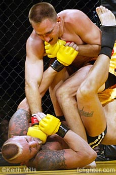 James Fanshier beating on Shannon Ritch