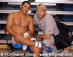Dan Henderson and Matt Lindland