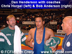 Chris Horpel, Dan Henderson and Bob Anderson