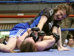 Roxanne Modafferi on top of Jennifer Howe