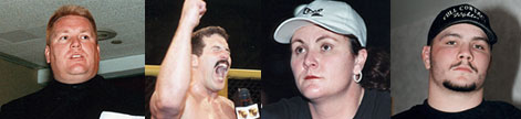 Paul Smith, Dan Severn, Becky Levi & Travis Fulton