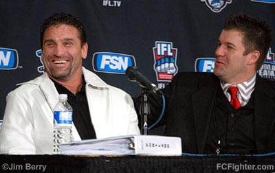 IFL (Nov. 2, 2006): Ken Shamrock and Kurt Otto - Photo by Jim Berry