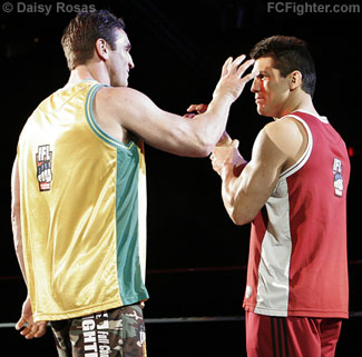 IFL (Jan 19, 2007): Ken (left) and Frank Shamrock - Photo by Daisy Rosas