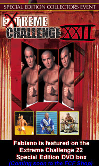 Fabiano Iha on Extreme Challenge DVD box cover