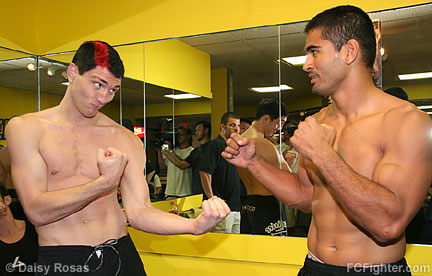 Jason 'Mayhem' Miller (left) vs. Falaniko Vitale