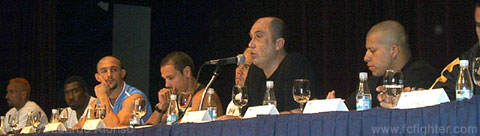 Sergio Batarelli speaks at the K-1 Brazil Press Conference