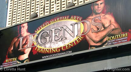 Legends Gym Billboard - Photo by Loretta Hunt