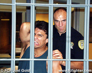 Frank Shamrock and Randy Couture